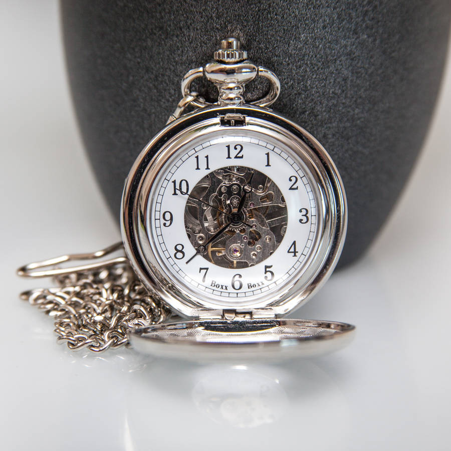 boxx skeleton mechanical pocket watch gemport jewellery